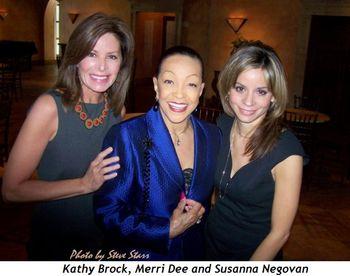 Blog 4 - Kathy Brock, Merri Dee and Susanna Negovan