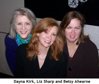 Blog 4 - Dayna Kirk, co-chair Liz Sharp and Betsy Ahearne