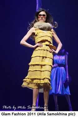 Blog 4 - Glam Fashion 2011 (Pic by Mila Samokhina)