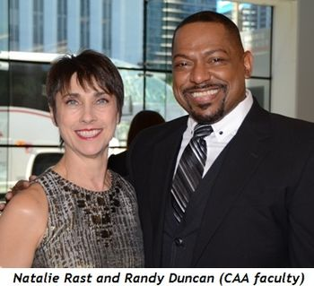 Blog 6 - Randy Duncan and Natalie Rast (CAA faculty)