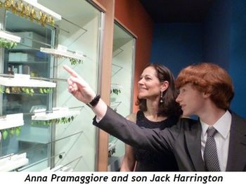 Blog 6 - Anna Pramaggiore and son Jack Harrington