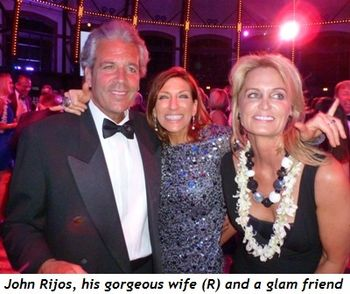 Blog 6 - John Rijos, his gorgeous wife (R) and glam friend