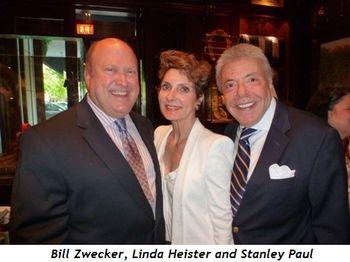 Blog 2 - Bill Zwecker, Linda Heister and Stanley Paul