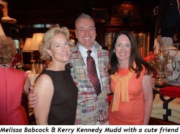 Blog 6 - Melissa Babcock and Kerry Kennedy Mudd with a cute friend