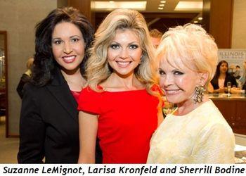 Blog 2 - Suzanne LeMignot, Larisa Kronfeld, Sherrill Bodine