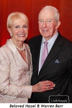 Blog 4 - Beloved Hazel and Warren Barr