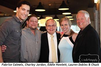 Blog 3 - Fabrice Calmels, Charley Jordan, Eddie Howlett, Lauren Dobies and Chuck