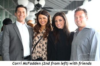 Blog 8 - Corri McFadden (2nd from L) with friends