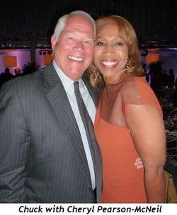 Blog 10 - Chuck with Cheryl Pearson-McNeil