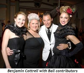 Blog 3 - Benjamin Cottrell with Ball contributors