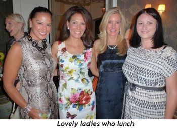 Blog 4 - Lovely Ladies who Lunch
