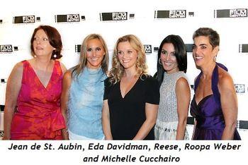 Blog 4 - Jean de St. Aubin, Eda Davidman, Reese, Roopa Weber and Michelle Cucchairo