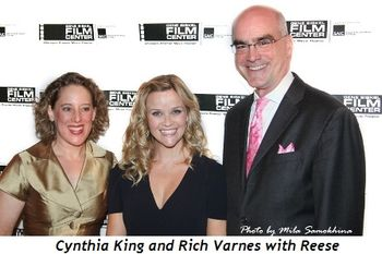 Blog 8 - Cynthia King and Rich Varnes with Reese