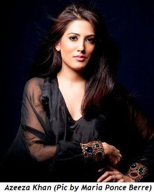 Azeeza Khan (pic by Maria Ponce Berre)