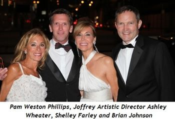 Pam Weston Phillips, Artistic Director Ashley Wheater, Shelley Farley and Brian Johnson