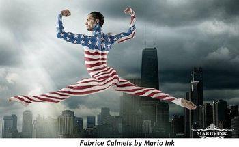 Fabrice Calmels by Mario Ink