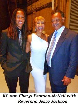 Blog 4 - KC and Cheryl Pearson-McNeil with Reverend Jesse Jackson