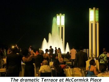 Blog 11 - The dramatic Terrace at McCormick Place