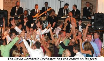 Blog 1 - The David Rothstein Orchestra has the crowd on their feet!