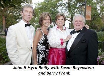 Blog 4 - John and Myra Reilly, Susan Regenstein and Barry Frank