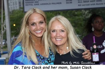 Blog 8 - Dr. Tara Clack and her mom Susan Clack