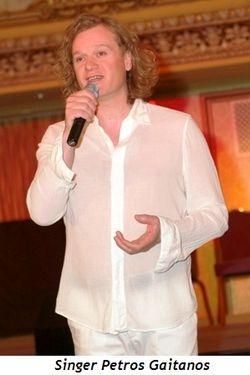 Blog 3 - Singer Petros Gaitanos