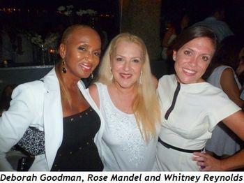 Blog 6 - Deborah Goodman, Rose Mandel and Whitney Reynolds