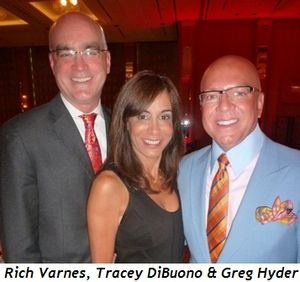 Blog 4 - Rich Varnes, show producer co-chair Tracey Tarantino and Greg Hyder