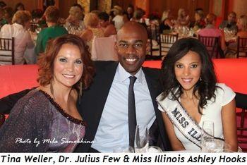 Blog 4 - Tina Weller, Dr. Julius Few, Miss Illinois Ashley Hooks