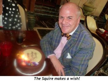 Blog 2 - The Squire makes a wish!