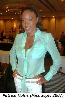 Blog 3 - Patrice Hollis (Miss Sept. 2007)