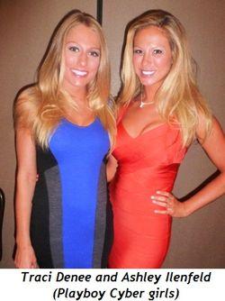 Blog 4 - Traci Denee and Ashley Ilenfeld (Playboy Cyber girls)