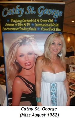 Blog 11 - Cathy St. George (Miss August 1982)