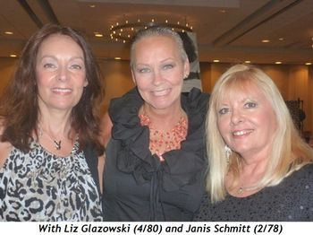 Blog 13 - With Liz Glazowski (4-80) and Janis Schmitt (2-78)