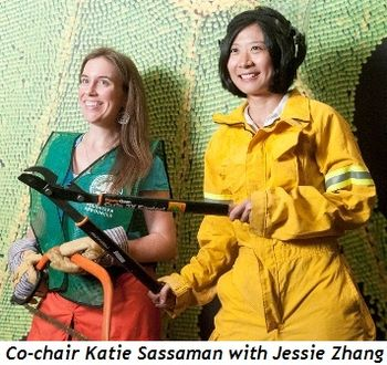 Blog 3 - Katie Sassaman (co-chair) with Jessie Zhang