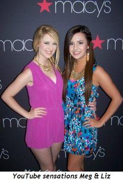 Blog 5 - YouTube sensations Meg & Liz