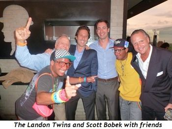 Blog 7 - The Landon Twins and Scott Bobek with friends