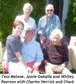 Blog 2 - (Front) Tess, Jamie Gaballa, Whitey Pearson, (top) Charles Herrick and Chuck