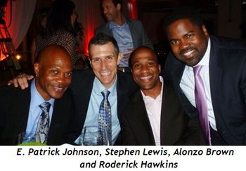 Blog 9 - E. Patrick Johnson, Stephen Lewis, Alonzo Brown, Roderick Hawkins