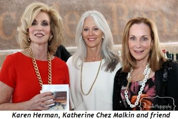 Blog 8 - Karen Herman, Katherine Chez Malkin and friend