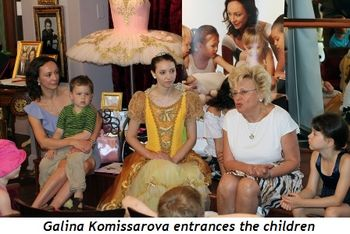 Blog 9 - Galina Komissarova entrances the children