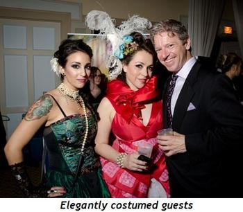 Blog 1 - Elegantly costumed guests