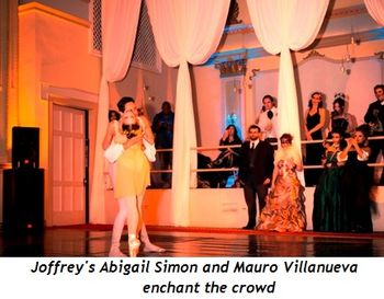 Blog 2 - Joffrey's Abigail Simon and Mauro Villanueva enchant the crowd