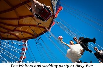 Blog 3 - The Walters and wedding party at Navy Pier