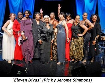 Blog 1 - Eleven Divas (Pic by Jerome Simmons)