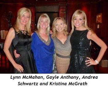Blog 15 - Lynn McMahan, Gayle Anthony, Andrea Schwartz and Kristina McGrath