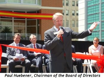 Blog 5 - Paul Huebener, Chairman of the Board of Directors