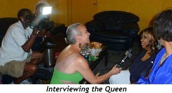 Blog 15 - Interviewing the Queen