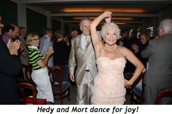 Blog 3 - Hedy and Mort dance for joy!