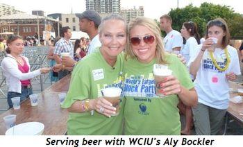 Blog 2 - Serving beer with WCIU's Aly Bockler